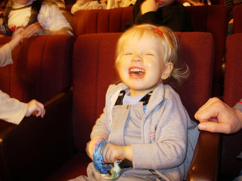 В театр в ребенком